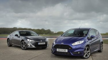 Ford Fiesta ST and Toyota GT86