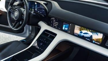 Porsche Mission E Turismo concept - interior