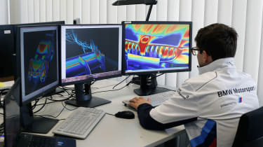 2017 BMW M4 DTM - CFD aerodynamic simulation