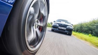 VXR8 GTS-R vs Carlton - wheel shot