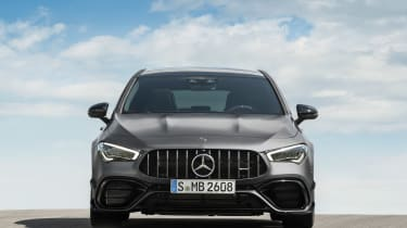 Mercedes-AMG CLA45 S Shooting Brake - front