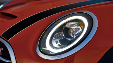 Mini Cooper facelift - headlight
