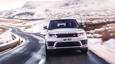 Range Rover Sport Ingenium front