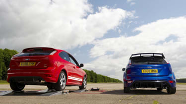 Ford Focus ST Mountune and Focus RS