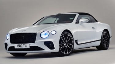 Bentley continental GT Convertible - front quarter