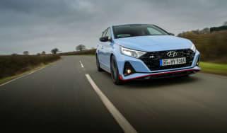 Hyundai i20 N - front tracking