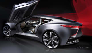 Hyundai HND-9 coupe concept car