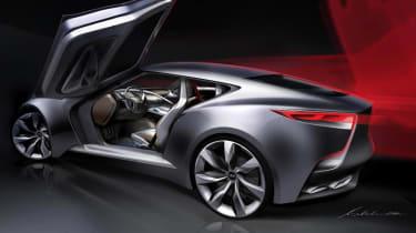 Hyundai HND-9 coupe concept car