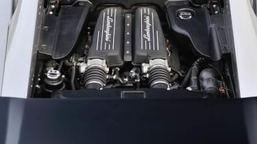 Lamborghini Gallardo Squadra Corse V10 engine