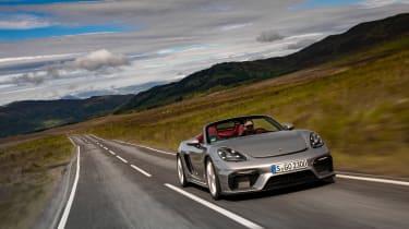 Porsche 718 Boxster Spyder - front quarter