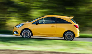Vauxhall Corsa GSi review - profile