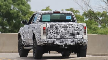 Ford Ranger Raptor spy - rear2