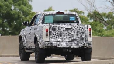 Ford Ranger Raptor spy - rear2