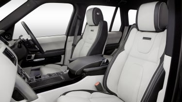 New Overfinch Range Rover front seats