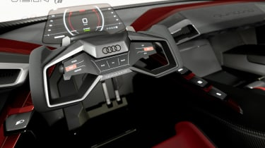 Audi e-tron Vision Gran Turismo interior
