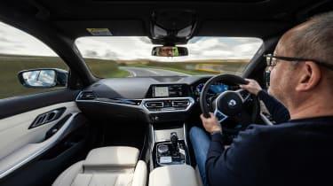 Alpina D3 S Touring – interior driving