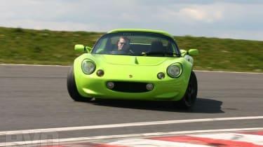 Lotus Elise track