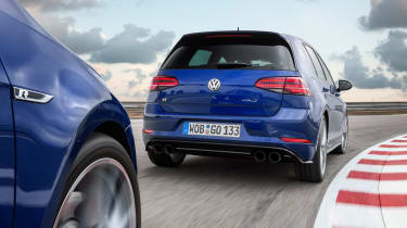 Volkswagen Golf R PP for UK - rear driving