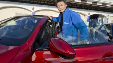 Gran Turismo creator Kazunori Yamauchi BMW M6