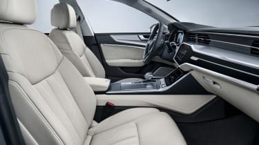 2018 Audi A7 Sportback press - front interior