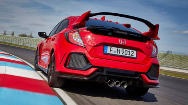 Honda Civic Type R - rear cornering