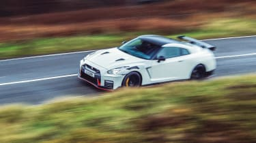 R35 Nissan GT-R Nismo front