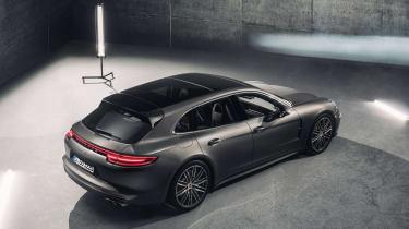 Porsche Panamera Sport Turismo - high angle