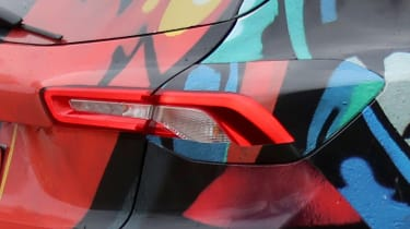 2018 Ford Focus - spied rear light