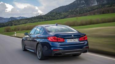 BMW M550i - rear