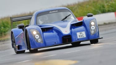 Radical RXC sideways drift powerslide