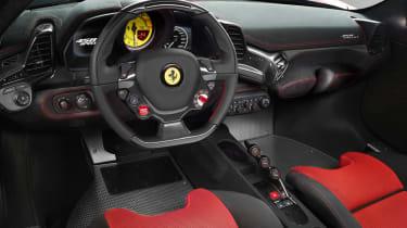 Ferrari 458 Speciale interior dashboard