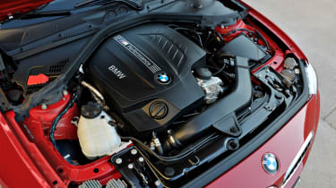BMW 2-series coupe twinpower engine