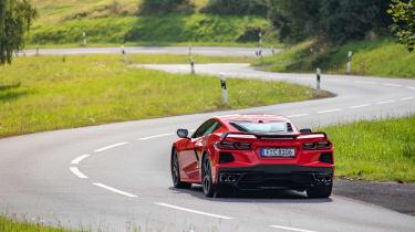 Corvette C8 Stingray EU – rear