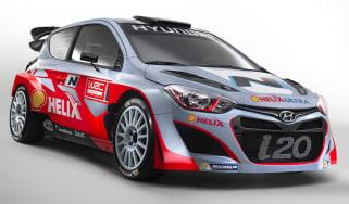 Hyundai launches i20 WRC car