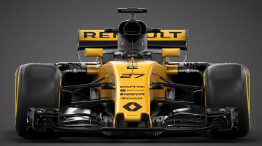 Renault F1 car front