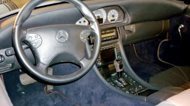 400bhp Mercedes 190SL CMH leather interior