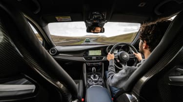 BMW M3 Group from evo 287 – interior driving Alfa