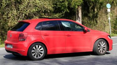 VW Polo spy rear