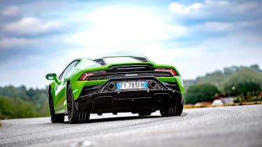 Lamborghini Huracan RWD - rear