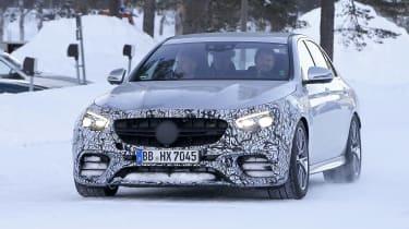 Mercedes-AMG E63 spy - nose