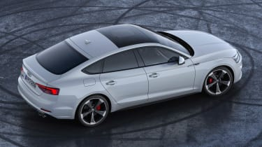 Audi S5 TDI - rear