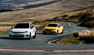 VW GTI TCR vs Megane RS Trophy - header