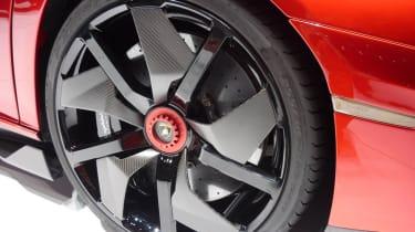 Lamborghini Aventador J carbon wheel