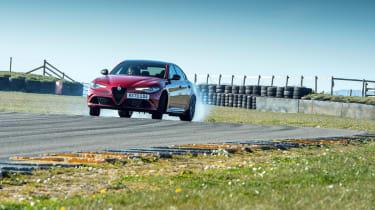 Alfa Romeo Giulia Quadrifoglio review LCI – slide