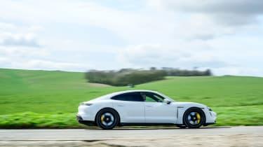 Porsche Taycan 2021 review - Turbo S pan