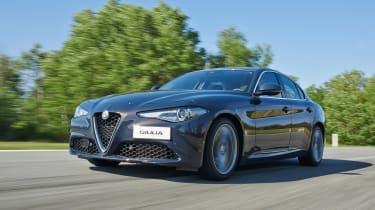 Alfa Romeo Giulia - front driving shot 3