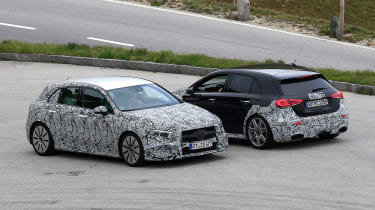 Mercedes-AMG A45 prototype - with A35