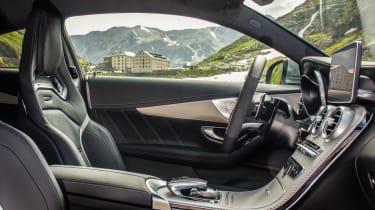Mercedes-AMG C63 interior