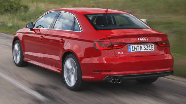 2013 Audi A3 Saloon 1.8 TFSI rear