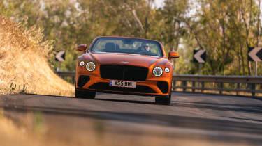 Bentley Continental GT Speed – front cornering